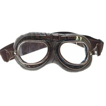 dark vintage, motor goggles clear glass