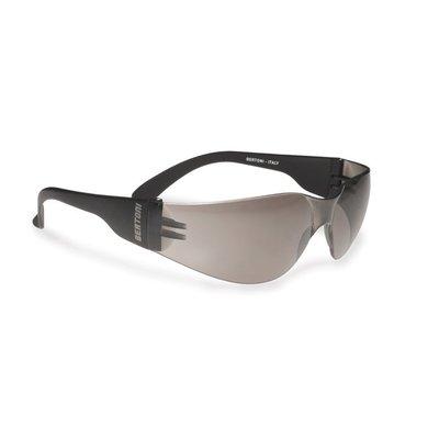 Bertoni antifog AF151C black motor sunglasses smoke lenses