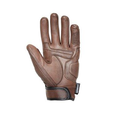 Germas florida leather motor gloves | brown