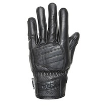 florida leather motor gloves | black