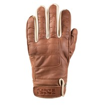 classic LD cruiser brown leather motor gloves