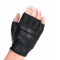 bobber vingerloze motorhandschoenen zwart