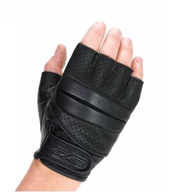 Grand Canyon bobber vingerloze motorhandschoenen zwart