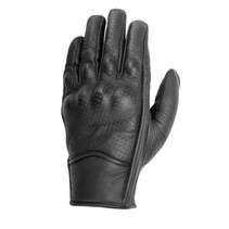 tabu perfo handschoenen | zwart