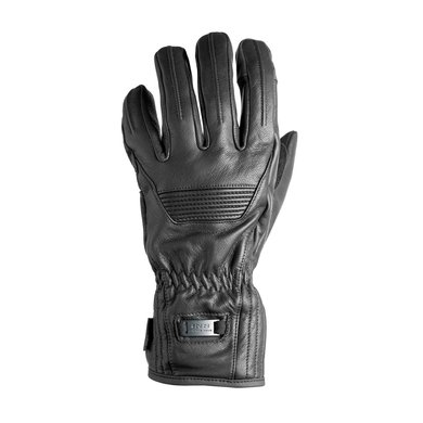 IXS montreal leather motor gloves   black