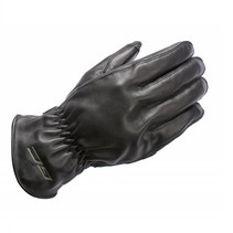 leather ace summer motor gloves black