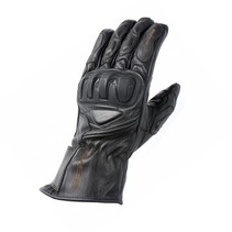 predator motor gloves black
