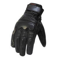 fullerton motor gloves black