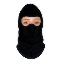 balaclava black cotton | helmet cap