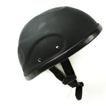 Flame cap motorhelm mat zwart | outlet