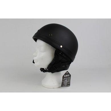 Classic half helmet matt black | outlet