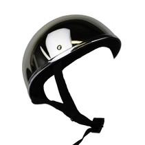 Silver reflection half helmet   outlet