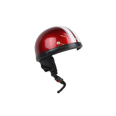 Moto red-white pothelm   maat L   outlet