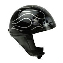 Skull glitter half helmet   outlet