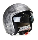 IXS 77 2.3 race jet helmet matt titan