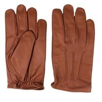 classic unlined nappa bruin leren handschoenen
