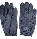 Swift driver leather gloves blue