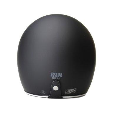 IXS HX 77 jethelm mat zwart