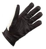 Swift vintage crochet leren handschoenen donkerbruin