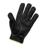 Swift racing leren handschoenen zwart-geel