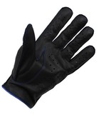 Swift racing leather gloves black-blue