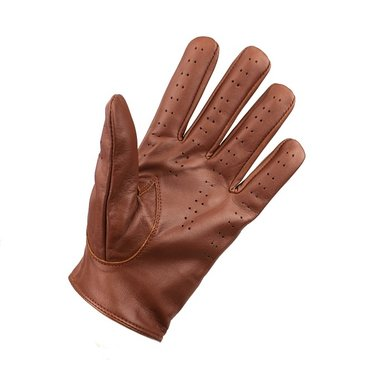 Swift retro racing leather gloves nappa brown