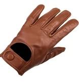 Swift retro racing leren handschoenen nappa bruin