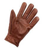 Swift retro racing mesh leather gloves nappa brown