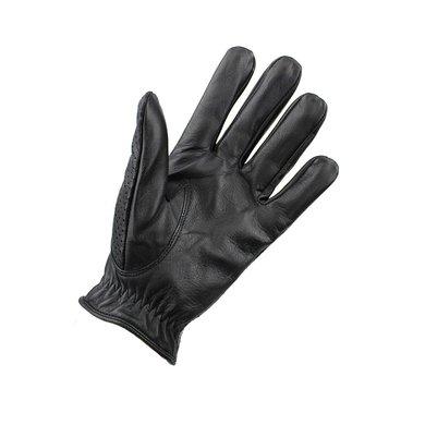 Swift retro racing mesh leather gloves black