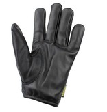 Swift classic kevlar lined black leather driving gloves