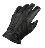 Swift classic fleece lined black leather driving gloves