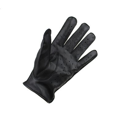 Swift racing leather gloves black