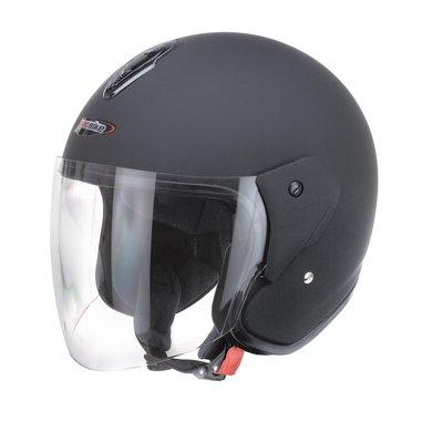 Redbike RB-915 jet helmet matt black
