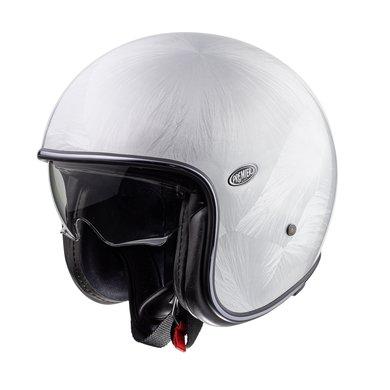 Premier vintage evo DR jet helmet | silver