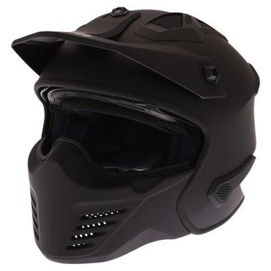 Spada storm matt black helmet | jet - full face