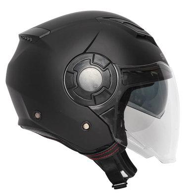 Spada lycan plain black jet helmet