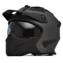 storm titanium | jet - full face helmet