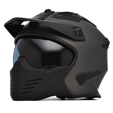 Spada storm titanium helm | jet - full face helm
