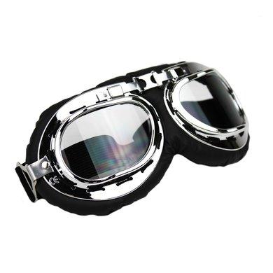 CRG chrome motor goggles