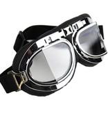 CRG chrome pilot goggles