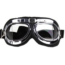 chrome pilot goggles