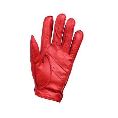 Laimböck mackay rood leren autohandschoenen dames