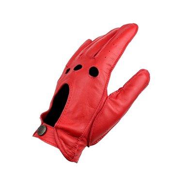 Laimböck manly rood leren autohandschoenen heren