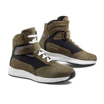 audax motorcycle shoes   green