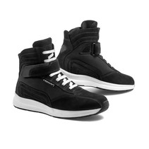 audax motorcycle shoes   black