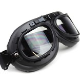 CRG zwarte motorbril