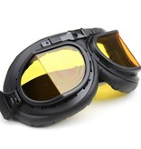CRG black pilot goggles