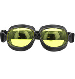 CRG zwarte vliegeniersbril