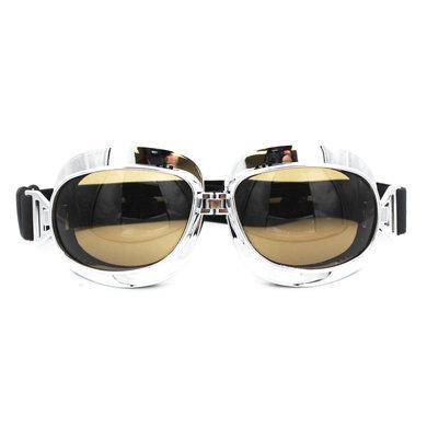 CRG chrome vliegeniersbril