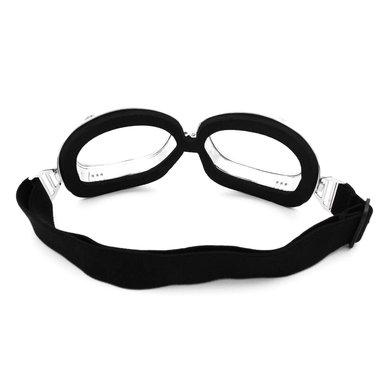 CRG chrome aviator goggles